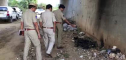 Hyderabad : Frau in Indien vergewaltigt, getötet, verbrannt