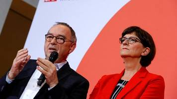 sozialdemokraten: scholz scheitert: walter-borjans und esken gewinnen wahl um spd-vorsitz