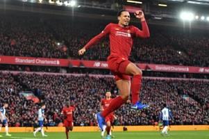 Liverpool schlägt Brighton und zieht Man City davon