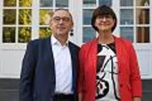 kandidaten des linken flügels - spd-mitglieder stimmen für walter-borjans und esken als neue vorsitzende