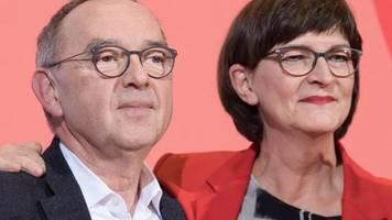 Kurzporträts: Walter-Borjans und Esken - die neue SPD-Führung