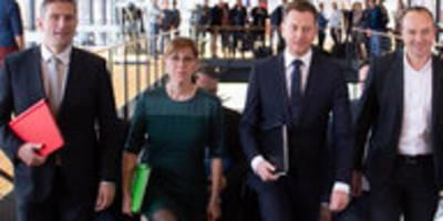 Kenia-Koalition in Sachsen: Megaressort für Grüne