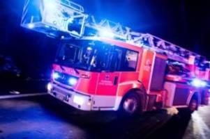 Brände: Feuer zerstört ehemaliges Gutshaus: 600 000 Euro Schaden