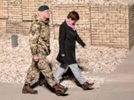 Bundeswehr: Kramp-Karrenbauer besucht Afghanistan in Zeiten höchster Nervosität