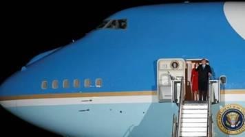 us-präsident trump zum nato-gipfel in london eingetroffen