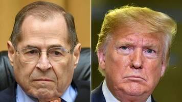 News von heute : Weißes Haus bezweifelt fairen Prozess: Trump-Anwälte bleiben Impeachment-Anhörung fern