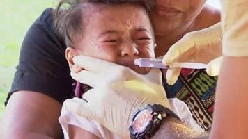 News von heute : Verheerende Masern-Epidemie auf Samoa: Schon 50 Tote, meist kleine Kinder