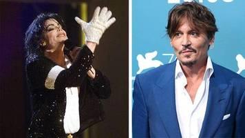 umstrittener king of pop: johnny depp produziert musical über michael jackson – aus der sicht eines handschuhs
