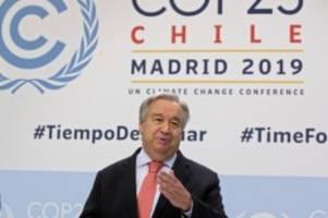 Auch US-Vertreter dabei: Fast 200 Staaten starten Verhandlungen bei UN-Klimakonferenz
