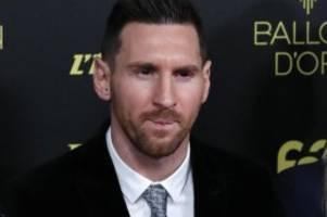 France Football: Weltfußballer Lionel Messi gewinnt auch Ballon d'Or