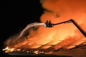 Brände: Scheune in Itterbeck fängt Feuer - 60 000 Euro Schaden