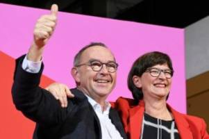 Führungsduo: Walter-Borjans und Esken: So tickt die neue SPD-Spitze