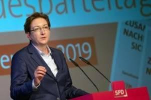 Parteien: Geywitz kündigt Kandidatur für Partei-Vizeposten an