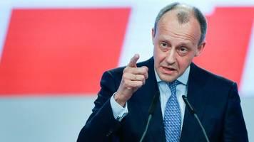 Bundesregierung: Merz plädiert für Minderheitsregierung bei Bruch der Großen Koalition