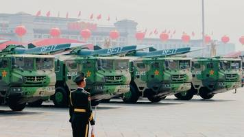moderne kanonenkugeln: chinas und russlands hyperschall-raketen alarmieren militärstrategen