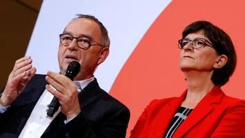 SPD und die Groko: Was haben Saskia Esken und Norbert Walter-Borjans vor?