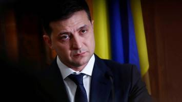 impeachment-untersuchung: ukrainischer präsident äußert sich zu donald trumps affäre