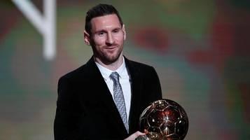 Lionel Messi gewinnt zum sechsten Mal den Ballon d'Or