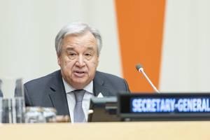 UN-Klimakonferenz in Madrid: Guterres warnt vor einer Erde in Flammen