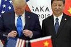 """""""Ab sofort"""" - China verhängt im Streit um Hongkong Sanktionen gegen die USA"""