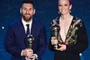 Rapinoe und Messi Favoriten - Ballon d'Or 2019 im Live-Stream und im TV sehen: Wer wird Weltfußballer?