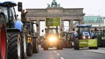 agrar-gipfel: politik hat versäumt, weichen zu stellen