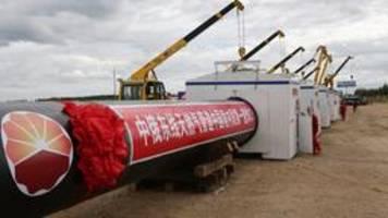 Kraft Sibiriens: Russisches Gas für China
