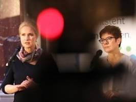 Grundrente an GroKo gekoppelt: Sozialdemokraten empört über AKK-Aussage