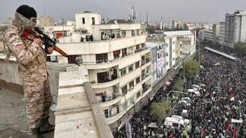 Mehr als 1000 Festnahmen: Amnesty: Über 200 Tote bei Unruhen im Iran