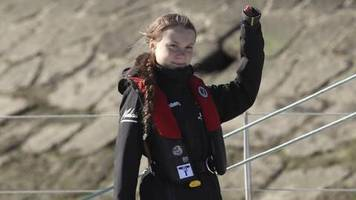 Nach Transatlantik-Törn: Greta Thunberg zurück in Europa