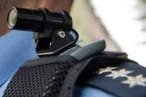 innere sicherheit: polizeidirektion göttingen setzt bodycams ein