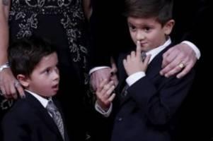 Fußball-Ticker: Ballon d'Or: Messis Söhne rangeln bei Ehrung miteinander