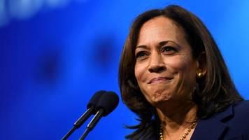 us-demokraten: kamala harris schmeißt im präsidentschaftsrennen hin