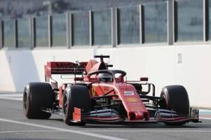 Ferrari-Star Vettel mit zweitbester Testzeit in Winterpause