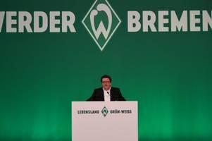 Keine Solidarität bei Polizeikosten - Werder droht mit Klage
