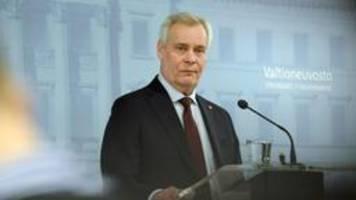 Finnlands Regierungschef tritt zurück