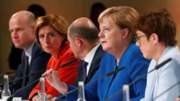 Keine GroKo, keine Grundrente: CDU setzt SPD unter Druck
