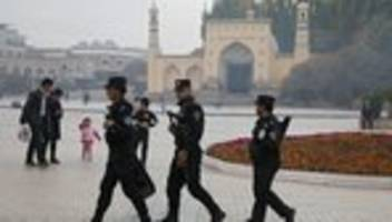 Uiguren: US-Kongress fordert Sanktionen gegen China