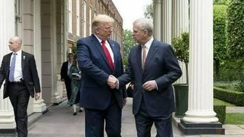 Donald Trump: Er verbreitet Fake News zu Prinz Andrew