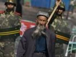 us-kongress fordert china-sanktionen wegen verfolgten uiguren