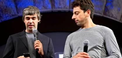 Google-Gründer Page und Brin treten ab