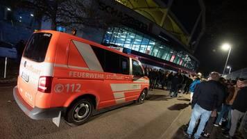 pokalspiel unterbrochen: stuttgarts handballer verärgert über hallen-evakuierung