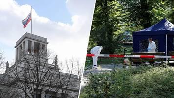 tiergarten-mord in berlin: deutschland erklärt russische diplomaten als unerwünscht