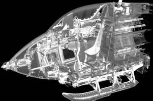 Der Raketenjäger Me163 im Computertomografen