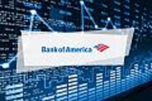 bank of america-aktie aktuell - bank of america legt 0,9 prozent zu
