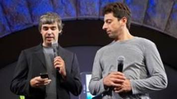 Google-Gründer Page und Brin danken ab