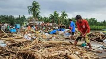 Taifun Kammuri hinterlässt Tote und Zerstörung