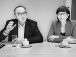 Esken und Walter-Borjans im Interview: Wir müssen vor allem die Politik der SPD verändern