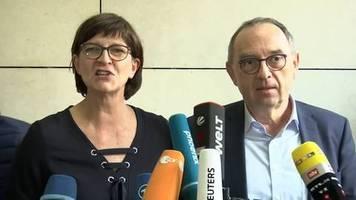 Video: Norbert Walter-Borjans - GroKo-Ausstieg kein Selbstzweck