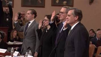 Video: Juristen halten Impeachment-Verfahren gegen Trump für gerechtfertigt